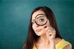 Сlipart Magnifying Glass Searching Women Scrutiny Surveillance   BillionPhotos