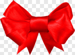 Сlipart Bow Christmas Red Ribbon Gift photo cut out BillionPhotos