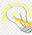Сlipart Innovation Light Bulb Pencil Crayon Light photo cut out BillionPhotos