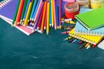 Сlipart school isolated crayons white collage   BillionPhotos