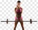 Сlipart workout black gym background heavy photo cut out BillionPhotos