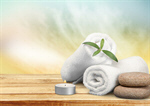 Сlipart Spa Treatment Towel Candle Wellbeing Stone   BillionPhotos