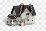 Сlipart House Security Security System Lock Chain photo cut out BillionPhotos