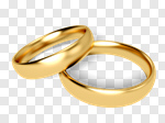 Сlipart Wedding Wedding Ring Ring Gold Jewelry 3d cut out BillionPhotos