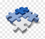Сlipart Puzzle Cooperation Jigsaw Piece Strategy Teamwork 3d cut out BillionPhotos