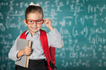 Сlipart child school genius blackboard student   BillionPhotos