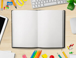 Сlipart modern notebook book blank tablet   BillionPhotos