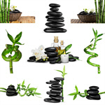 Сlipart Spa Treatment Stone Zen-like Bamboo Alternative Medicine   BillionPhotos