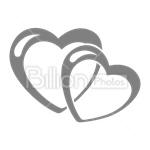 Сlipart heart heart shape love loving heart button vector icon cut out BillionPhotos