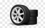 Сlipart Tire Wheel Motorized Sport Alloy Wheel Isolated 3d cut out BillionPhotos