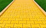 Сlipart Brick Yellow Road Footpath Gold 3d  BillionPhotos