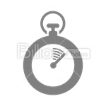 Сlipart Stopwatch Time Speed Sport Timer vector icon cut out BillionPhotos