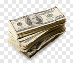 Сlipart Money Currency Stack Cash Dollar photo cut out BillionPhotos