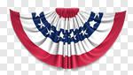 Сlipart Bunting American Flag Flag Fourth of July American Culture 3d cut out BillionPhotos