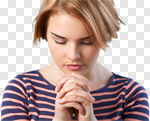Сlipart Praying Women People Depression Sadness photo cut out BillionPhotos