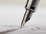 Сlipart Pen Writing Letter Signature Paper photo  BillionPhotos