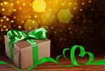Сlipart gift box blue greeting decoration   BillionPhotos