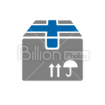 Сlipart Box Delivery Shipping Parcel Package vector icon cut out BillionPhotos