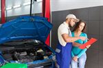 Сlipart Auto Repair Shop Car Mechanic Repairing Customer photo  BillionPhotos