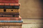 Сlipart stacked old books stack pile shelf dark   BillionPhotos