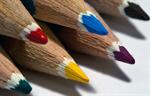 Сlipart Pencil Color Image Descriptive Color Four Objects Macro photo free BillionPhotos