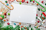 Сlipart Blank christmas holiday card frame tree photo  BillionPhotos