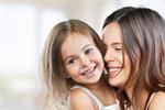 Сlipart mum teeth hugging mother smiling   BillionPhotos