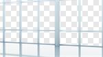 Сlipart Office Window Contemporary White Clean 3d cut out BillionPhotos