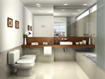 Сlipart Bathroom Showcase Interior Contemporary Toilet Bathtub photo  BillionPhotos