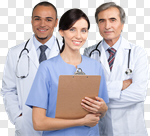 Сlipart Doctor Healthcare And Medicine Medical Exam Nurse Team photo cut out BillionPhotos