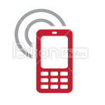 Сlipart phone smart smartphone device display vector icon cut out BillionPhotos