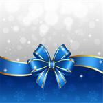 Сlipart Christmas Backgrounds Holiday Christmas Card Bow vector  BillionPhotos
