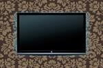 Сlipart Television Liquid-Crystal Display Three-dimensional Shape Digitally Generated Image Black vector  BillionPhotos