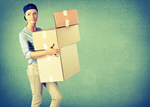 Сlipart woman cardboard box Box Moving House Moving Office Physical Activity   BillionPhotos