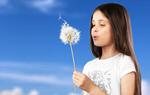 Сlipart dandelion and girl seed wind ruegen blow   BillionPhotos