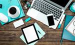 Сlipart modern desktop tablet view pen papers   BillionPhotos