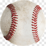 Сlipart Baseball Baseballs Dirty Retro Revival Old-fashioned photo cut out BillionPhotos