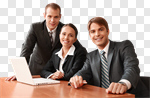 Сlipart Business Office Meeting Computer Team photo cut out BillionPhotos