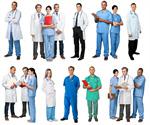Сlipart full doctor length medical staff   BillionPhotos
