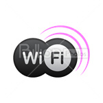 Сlipart Wi-fi Wireless Technology Wireless Wireless Signal Radio Wave vector icon cut out BillionPhotos