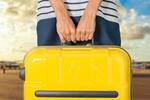 Сlipart hand holds suitcase woman travel airport leaving   BillionPhotos