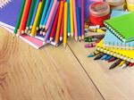 Сlipart school crayons collage template copyspace   BillionPhotos