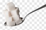Сlipart Sugar Spoon Cube Food Teaspoon photo cut out BillionPhotos