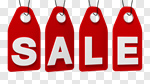 Сlipart Sale Shopping Sign Price Tag Banner 3d cut out BillionPhotos