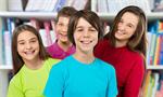 Сlipart school children kids black backpack   BillionPhotos