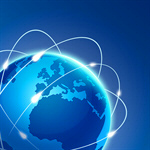 Сlipart Globe Earth World Map Communication Internet vector  BillionPhotos