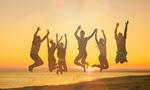 Сlipart asia family beach harmony black color business growing carefree delight   BillionPhotos
