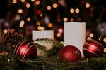 Сlipart christmas holiday tree lights candles photo free BillionPhotos