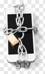Сlipart phone theft lock smart encryption photo cut out BillionPhotos
