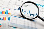 Сlipart Finance Magnifying Glass Stock Market Scrutiny Analyzing photo  BillionPhotos